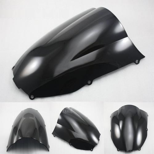 Windshield WindScreen DB Kawasaki ZX6R 00-02 ZZR600 05-09 Black